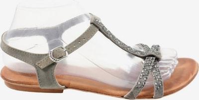 Gioseppo T-Steg-Sandaletten in 38 in hellgrau, Produktansicht