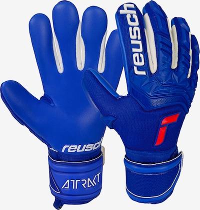 REUSCH Sporthandschuhe in blau / hellrot / weiß, Produktansicht