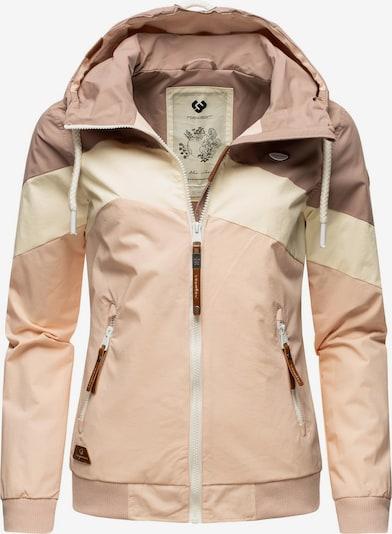Ragwear Jacke 'Nuggie' in beige / rosa / altrosa, Produktansicht