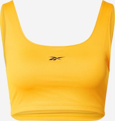 Reebok Sport Sport-BH 'Workout Ready' in orange / schwarz, Produktansicht