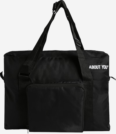 ABOUT YOU Weekend bag 'Icons' i svart, Produktvy