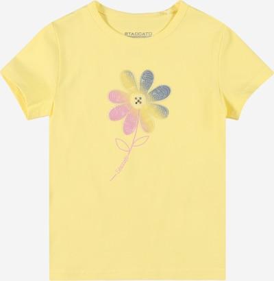 STACCATO T-Shirt in himmelblau / zitrone / rosa, Produktansicht