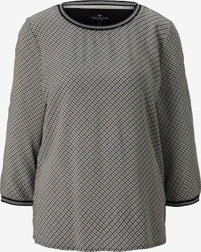 TOM TAILOR T-shirt en gris / noir, Vue avec produit