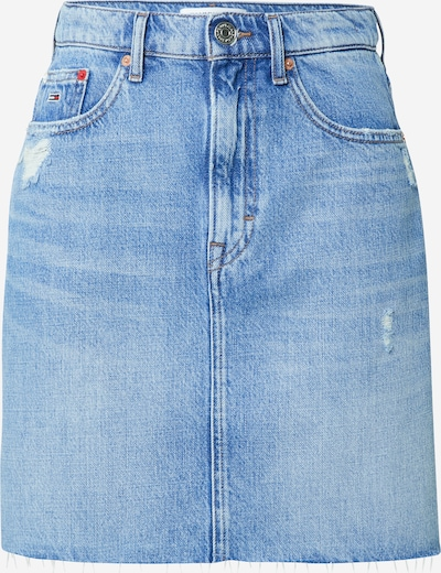 Tommy Jeans Rock in nachtblau / blue denim / rot / weiß, Produktansicht