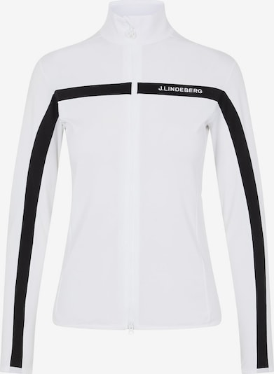 J.Lindeberg Jacke 'Janice' in schwarz / weiß, Produktansicht