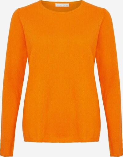 Cashmere Stories Pullover in mandarine, Produktansicht