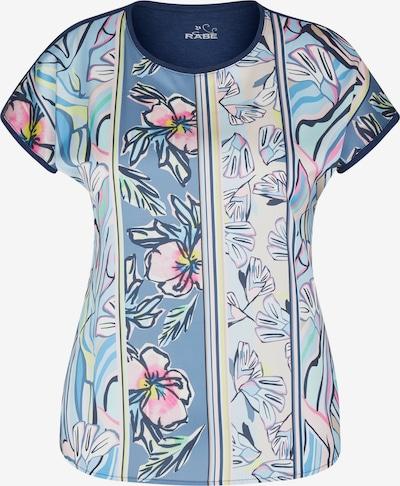 Rabe Shirt in blau / hellblau / gelb / pink / weiß, Produktansicht