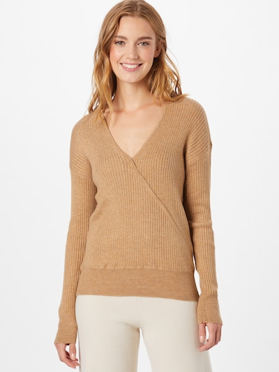 VILA Sweater 'GRADE' in Light brown, View model