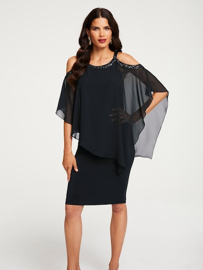 Patrizia Dini by heine Cocktailkleid in schwarz, Modelansicht