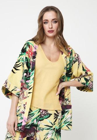 Madam-T Blazer 'EIDA' in Yellow