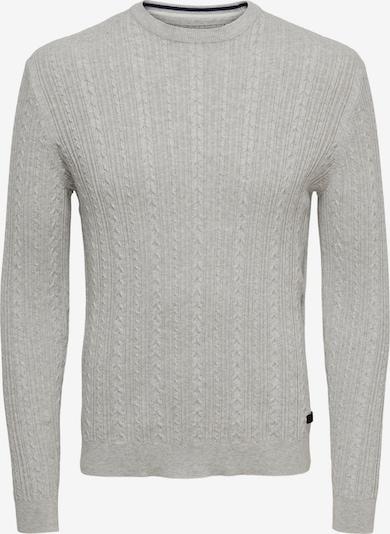 Only & Sons Sweter w kolorze jasnoszarym, Podgląd produktu