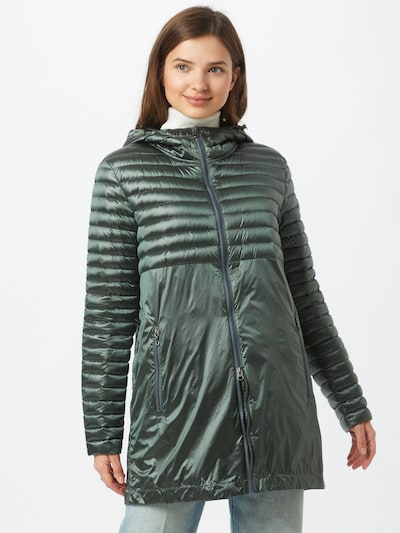 Colmar Between-seasons coat in Dark green, View model