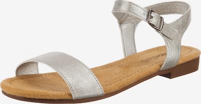 ambellis Schuh in silber, Produktansicht