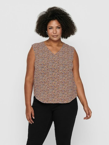 ONLY Carmakoma Bluse in Mischfarben