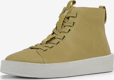 CAMPER Baskets hautes ' Courb ' en beige / jaune, Vue avec produit