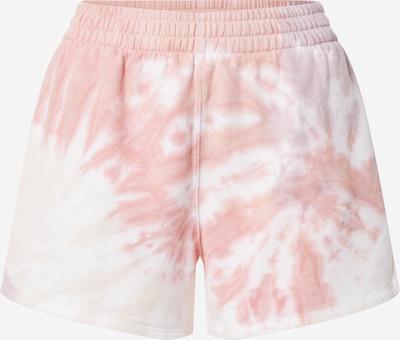 Pantaloni Abercrombie & Fitch pe roz / alb, Vizualizare produs