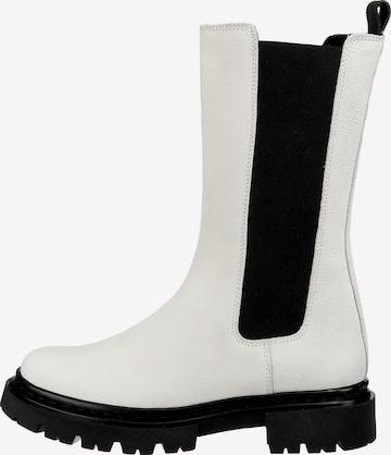 JOLANA & FENENA Boots in White