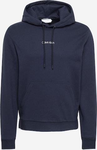 Sweat-shirt Calvin Klein en bleu