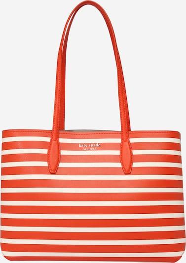"""Kate Spade """"Чанта тип """"""""Shopper"""""""""""" в оранжево-червено / бяло, Преглед на продукта"""