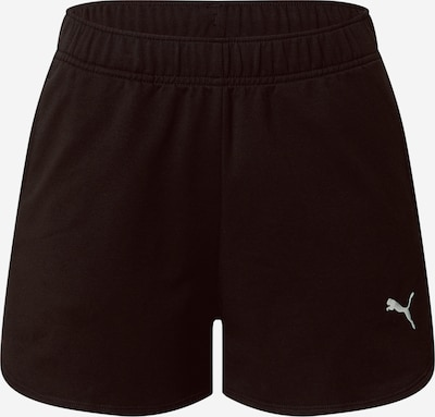 Pantaloni sportivi PUMA di colore nero / bianco, Visualizzazione prodotti