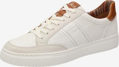 SIOUX Sneaker 'Rosdeco' in hellbraun / weiß / offwhite, Produktansicht