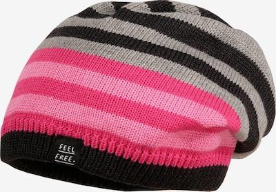 MAXIMO Gorra en rosa / negro / plata, Vista del producto