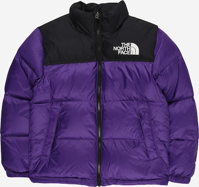 THE NORTH FACE Sportjacke '1996 RETRO Nuptse' in dunkellila / schwarz, Produktansicht