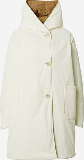 OOF WEAR Between-seasons coat in camel / white, Item view
