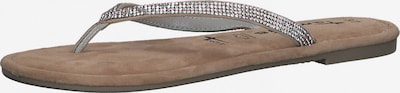 TAMARIS Séparateur d'orteils en marron / argent, Vue avec produit