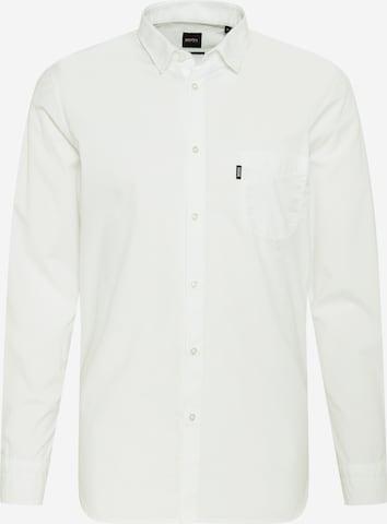 BOSS Casual Hemd 'Magneton' in Weiß
