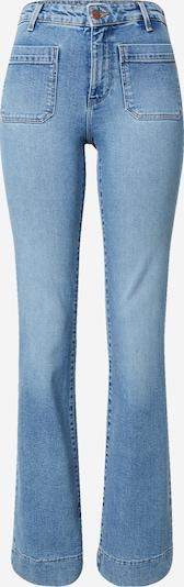 Jeans WRANGLER pe albastru denim, Vizualizare produs