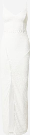 Skirt & Stiletto Robe de soirée 'Faye' en blanc, Vue avec produit