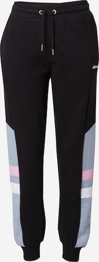 ELLESSE Broek 'Manta' in de kleur Lichtblauw / Rosa / Zwart / Wit, Productweergave