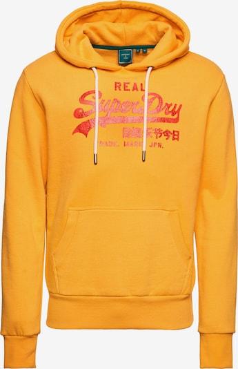 Superdry Snow Sportsweatshirt in de kleur Geel / Rood, Productweergave