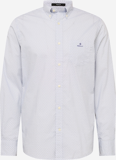 Camicia GANT di colore turchese / blu notte / bianco, Visualizzazione prodotti