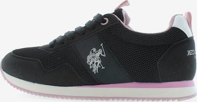 U.S. Polo Assn. Sneaker 'Teva3' in schwarz, Produktansicht