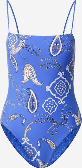 Seafolly Badpak 'Tube Maillot' in de kleur Violetblauw / Gemengde kleuren, Productweergave