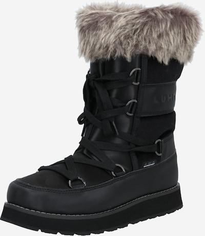 LUHTA Škornji | črna barva, Prikaz izdelka
