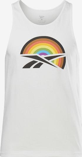 Reebok Sport T-Shirt fonctionnel 'Pride' en mélange de couleurs / noir / blanc, Vue avec produit