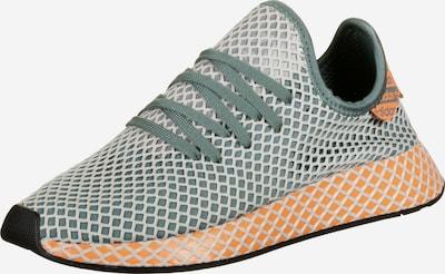 ADIDAS ORIGINALS Sneaker 'Deerupt Runner' in grasgrün / orange / schwarz / weiß, Produktansicht