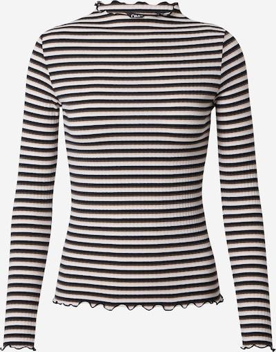 ONLY Shirt 'Emma' in schwarz / offwhite, Produktansicht