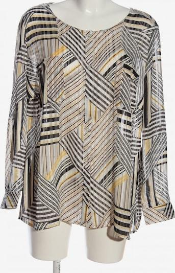 Creation L. Transparenz-Bluse in 4XL in braun / pastellgelb / wollweiß, Produktansicht