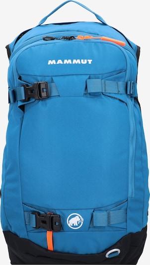 MAMMUT Sportrucksack in blau / schwarz / weiß, Produktansicht