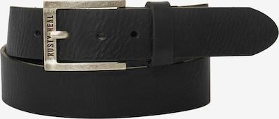 Rusty Neal Gürtel in schwarz, Produktansicht