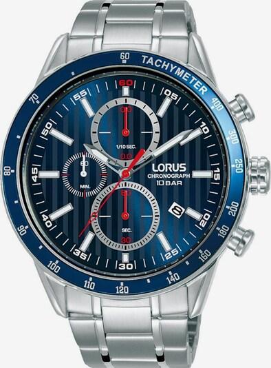 LORUS Uhr in blau / silber, Produktansicht