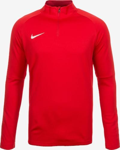 NIKE T-Shirt fonctionnel 'Dry Academy 18 Drill' en rouge / blanc, Vue avec produit
