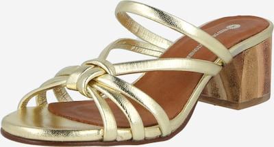 Fred de la BretoniÈre Zapatos abiertos en oro, Vista del producto