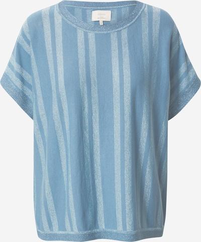 NÜMPH Shirt 'DAGAN DARLENE' in rauchblau / hellblau, Produktansicht