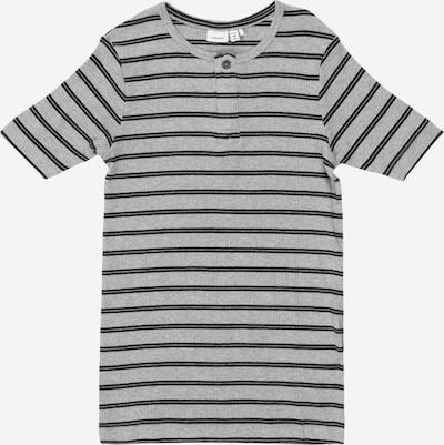 NAME IT T-Shirt 'Jaco' in grau / schwarz, Produktansicht