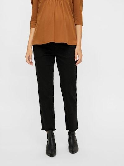 MAMALICIOUS Jeans 'Marbella' in schwarz, Modelansicht